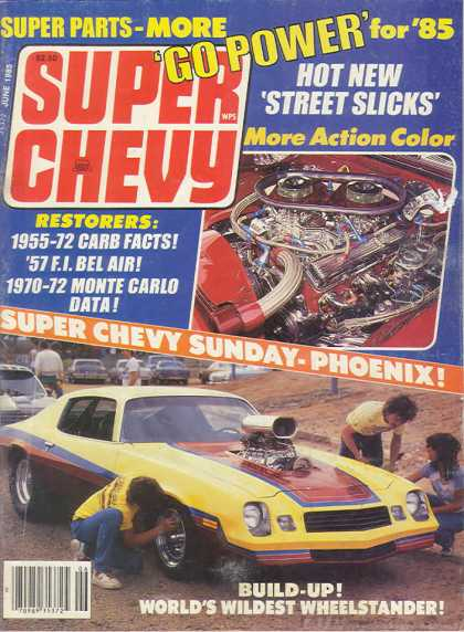 Super Chevy - July 1985