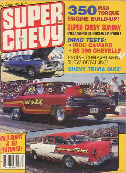 Super Chevy - December 1985