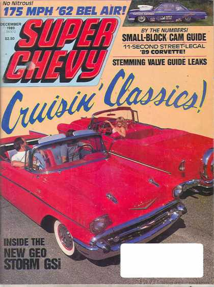Super Chevy - December 1989