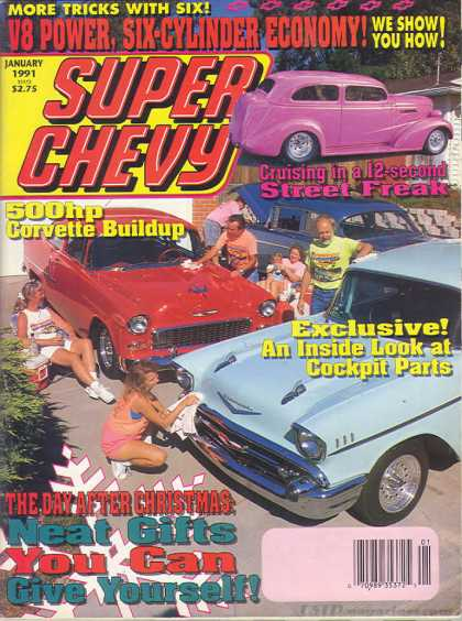 Super Chevy - January 1991