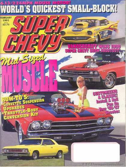Super Chevy - February 1991