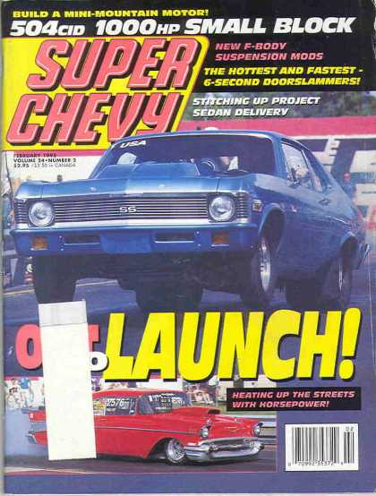 Super Chevy - February 1995