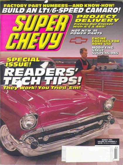 Super Chevy - March 1995