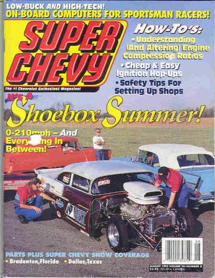 Super Chevy - August 1995