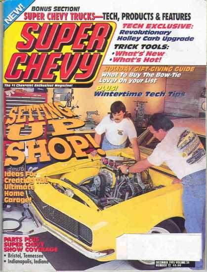 Super Chevy - December 1995