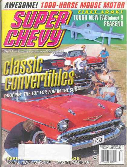 Super Chevy - October 1996