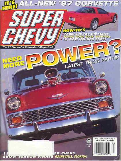 Super Chevy - April 1997