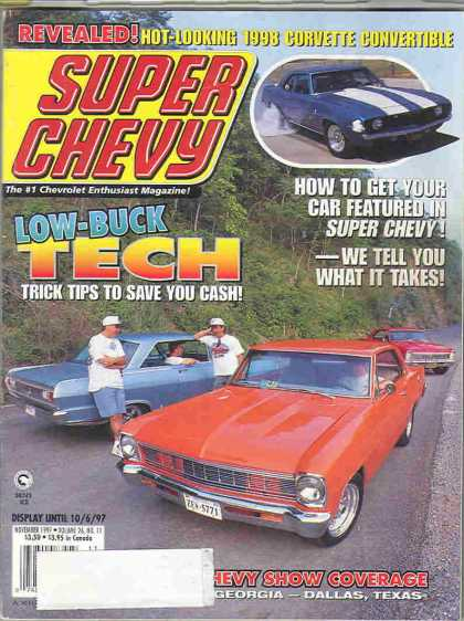 Super Chevy - November 1997