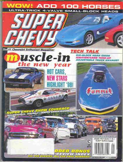 Super Chevy - January 1998