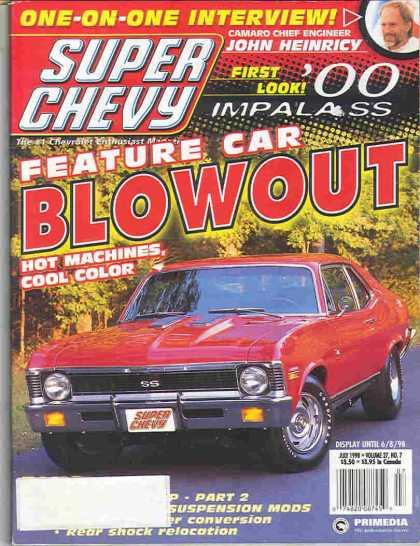 Super Chevy - July 1998