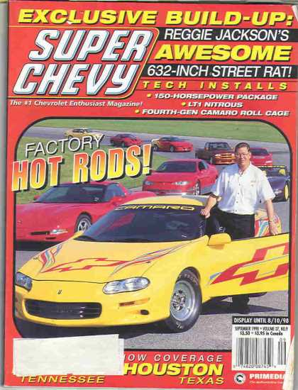 Super Chevy - September 1998