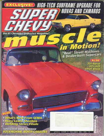 Super Chevy - April 1999