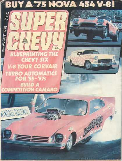 Super Chevy - August 1975