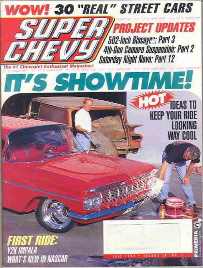 Super Chevy - July 1999