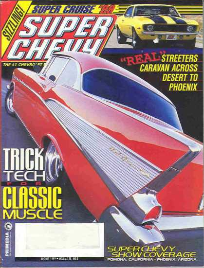 Super Chevy - August 1999