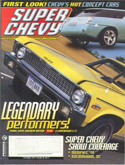 Super Chevy - September 1999