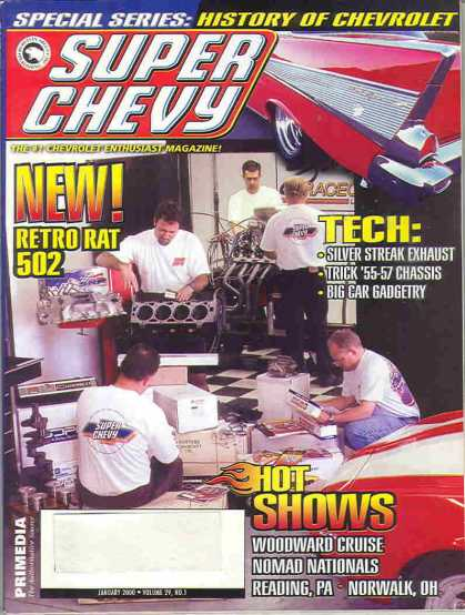 Super Chevy - January 2000