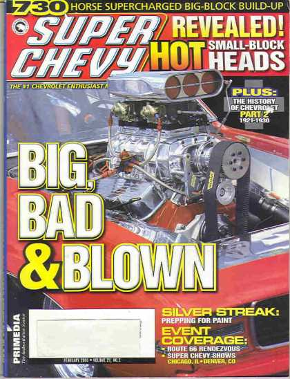 Super Chevy - February 2000