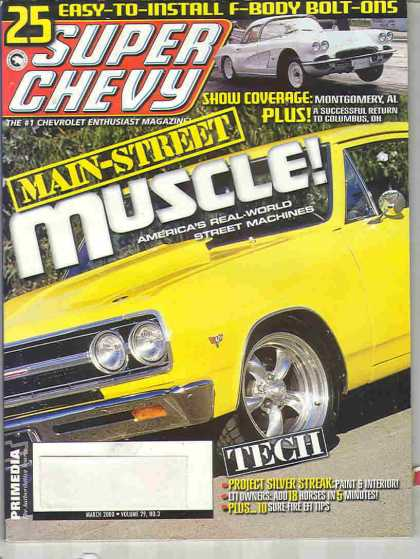 Super Chevy - March 2000