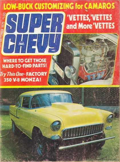 Super Chevy - October 1975