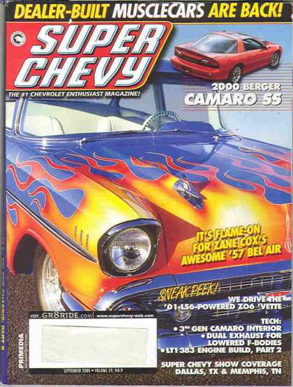 Super Chevy - September 2000