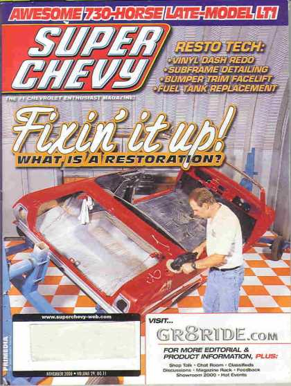 Super Chevy - November 2000