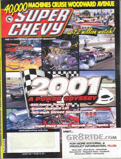 Super Chevy - January 2001