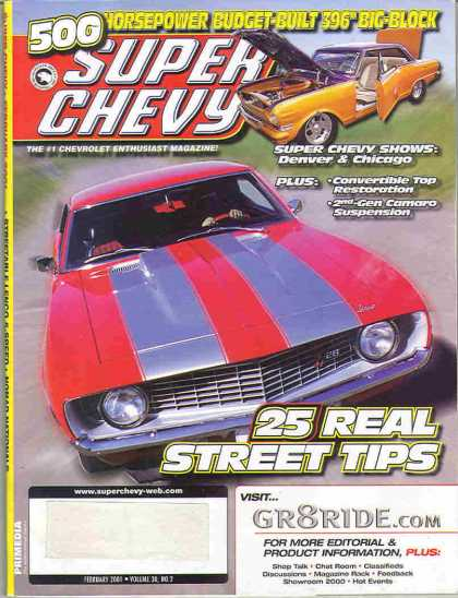 Super Chevy - February 2001
