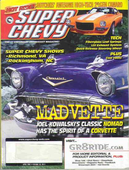 Super Chevy - April 2001