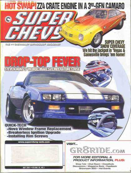 Super Chevy - May 2001