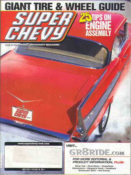 Super Chevy - June 2001
