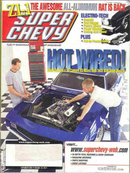 Super Chevy - September 2001