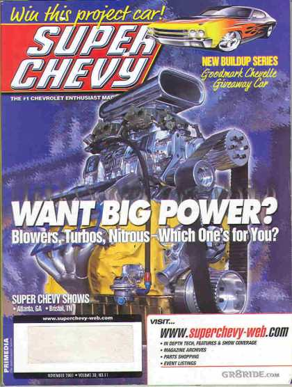 Super Chevy - November 2001