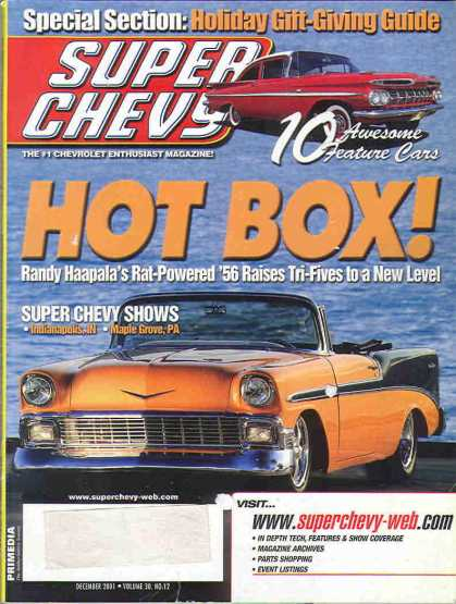 Super Chevy - December 2001