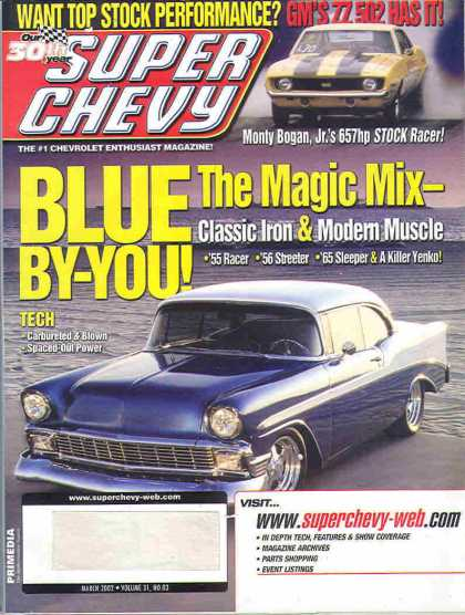 Super Chevy - March 2002