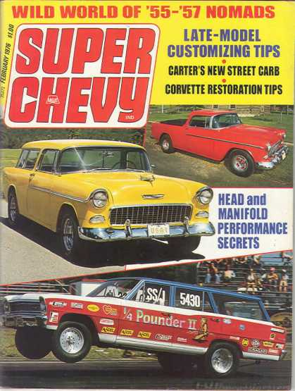 Super Chevy - February 1976