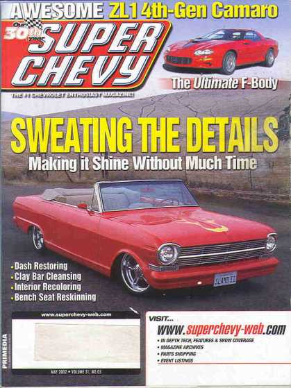 Super Chevy - May 2002