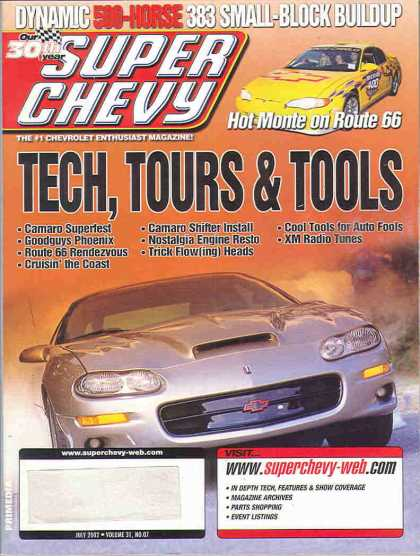 Super Chevy - July 2002