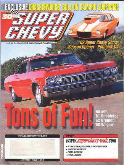 Super Chevy - August 2002