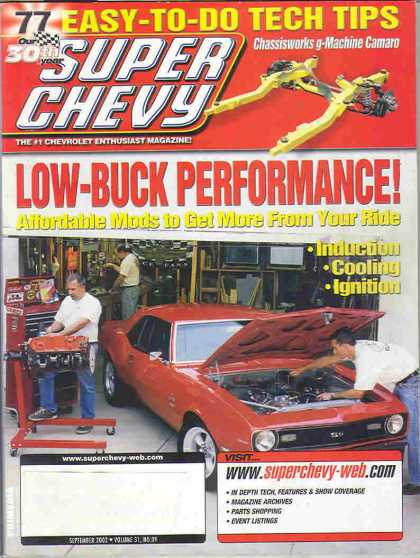 Super Chevy - September 2002