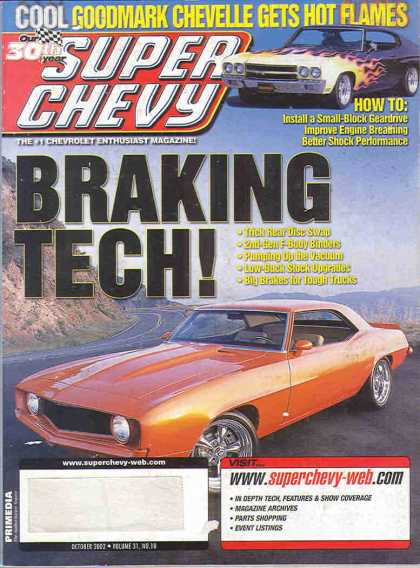 Super Chevy - October 2002