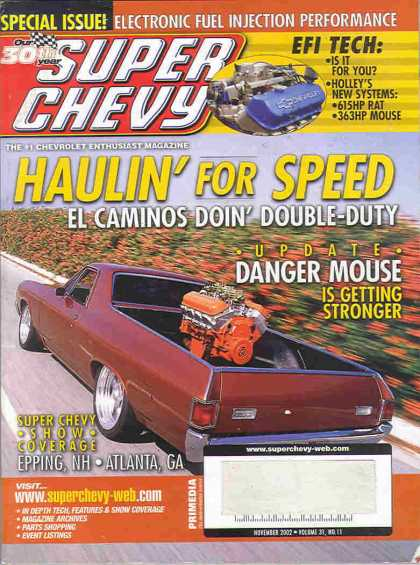 Super Chevy - November 2002