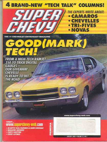 Super Chevy - January 2003