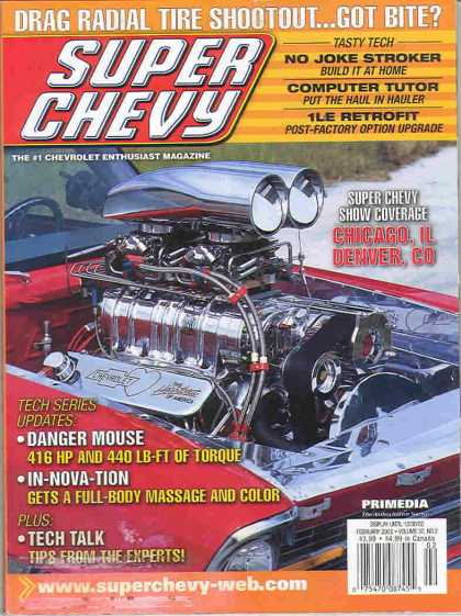 Super Chevy - February 2003