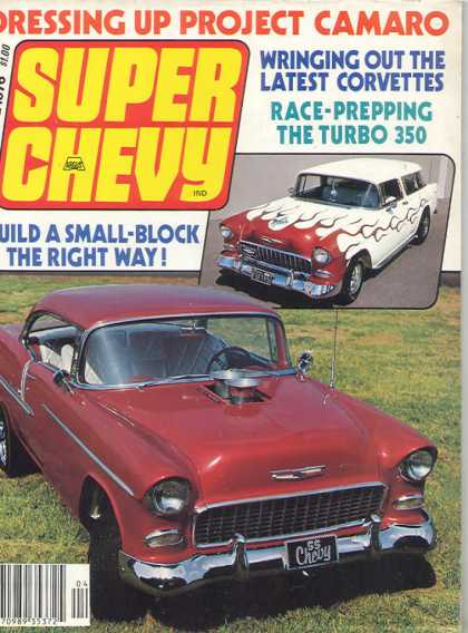 Super Chevy - April 1976
