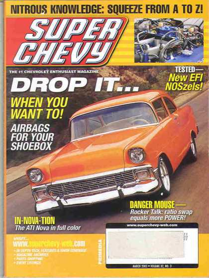 Super Chevy - March 2003