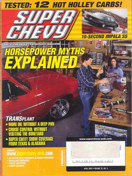 Super Chevy - April 2003