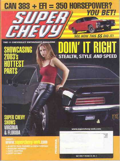 Super Chevy - May 2003