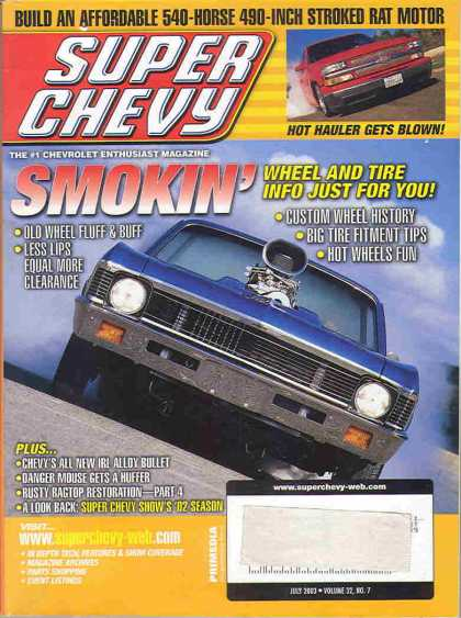 Super Chevy - July 2003