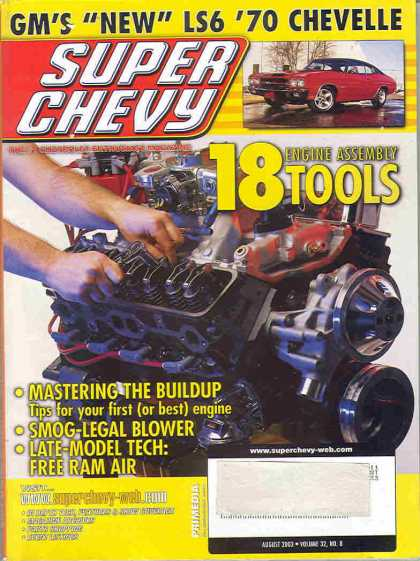 Super Chevy - August 2003